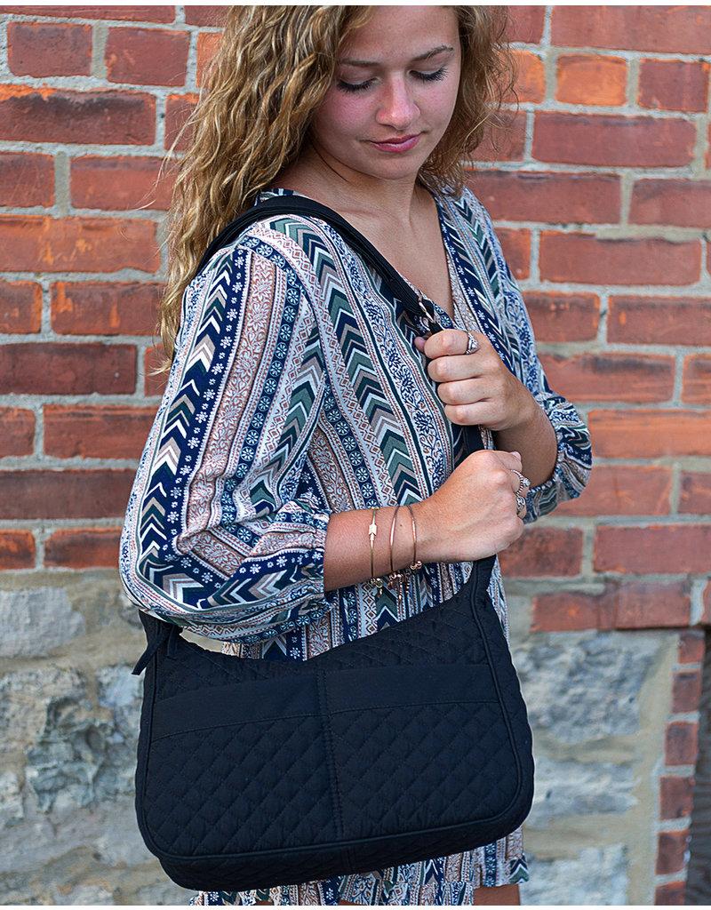 Stephanie Dawn Shoulder Bag - Chambray Dots