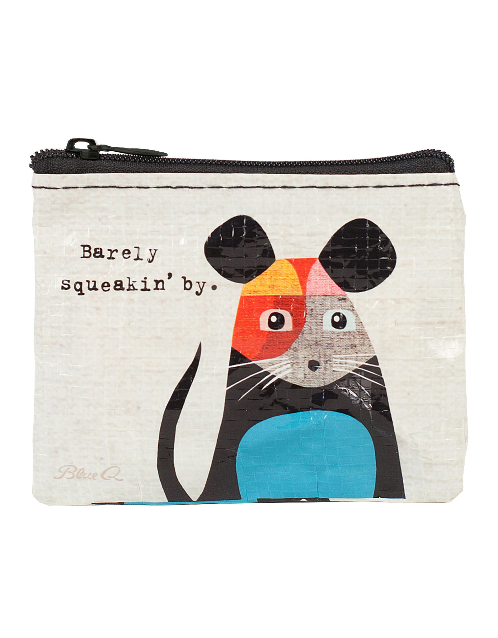 Blue Q Coin Purse - Barely Squeakin By