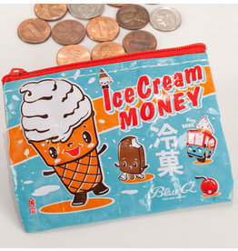 Blue Q Coin Purse - Ice Cream Money