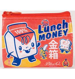 Blue Q Coin Purse - Lunch Money