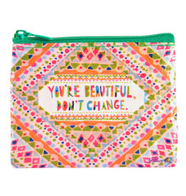 Blue Q Coin Purse - You're Beautiful