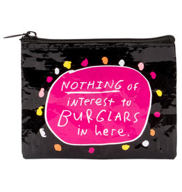 Blue Q Coin Purse - Burglars
