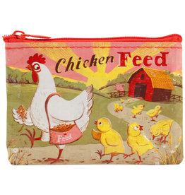 Blue Q Coin Purse - Chicken Feed