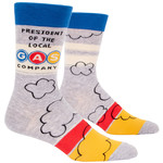 Blue Q Mens Crew Socks - President Gas Co.