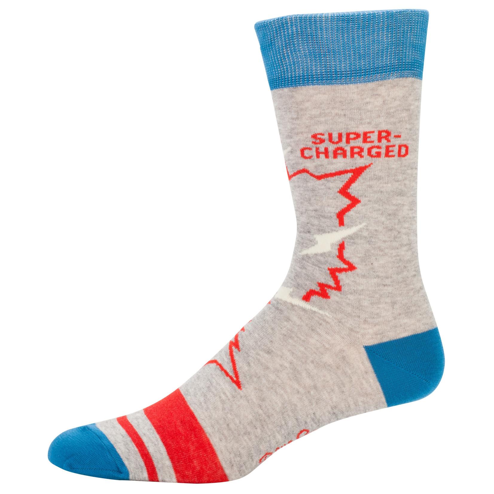 Blue Q Mens Crew Socks - Video Game