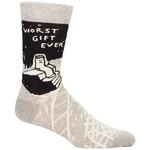 Blue Q Mens Crew Socks - Worst Gift Ever