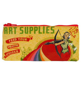 Blue Q Pencil Case - Art Supplies