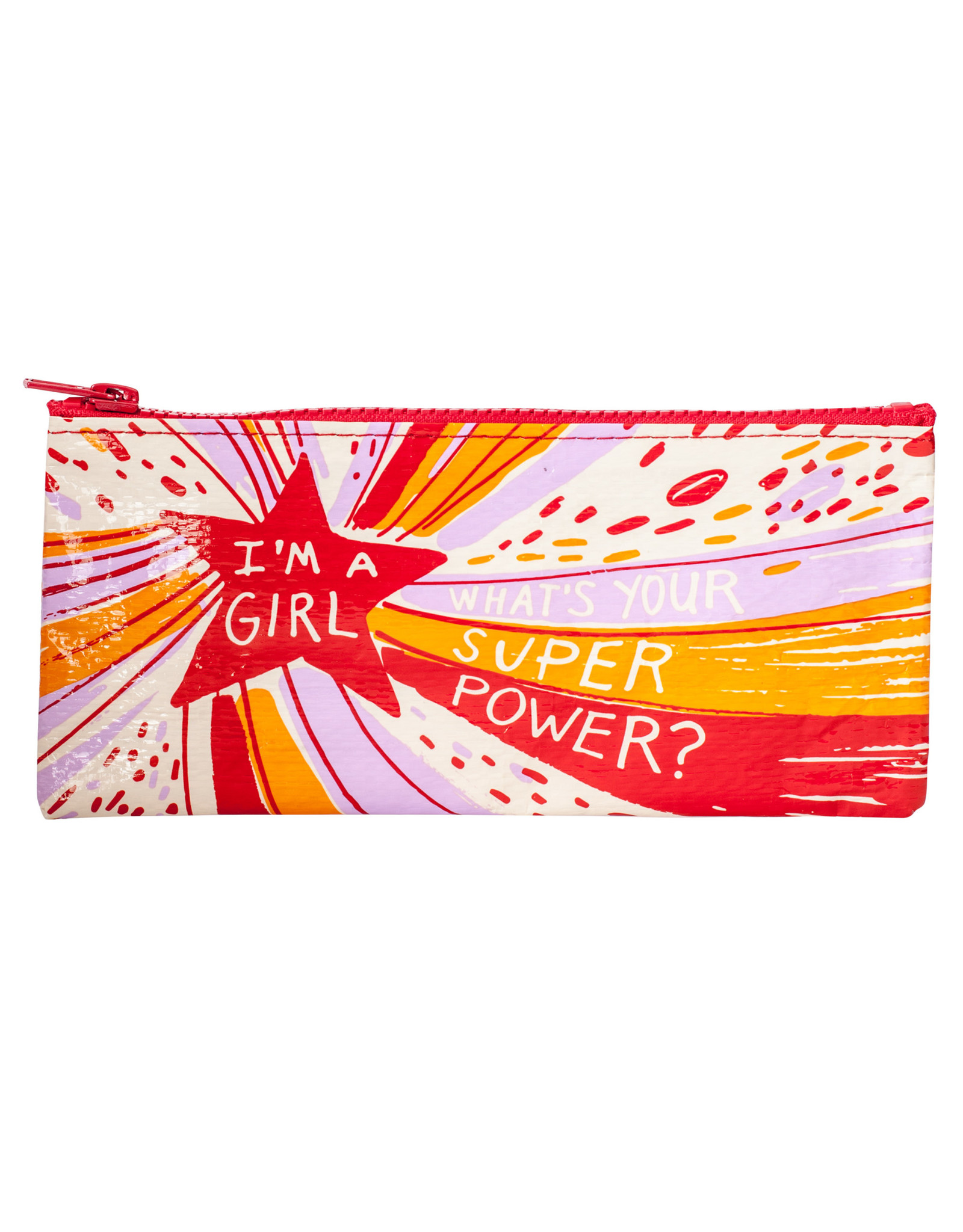 Blue Q Pencil Case - Superpower