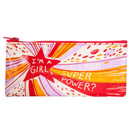 Blue Q Pencil Case - Superpower