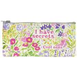 Blue Q Pencil Case - I Have Secrets