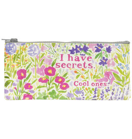 Blue Q Pencil Case - I Have Secrets