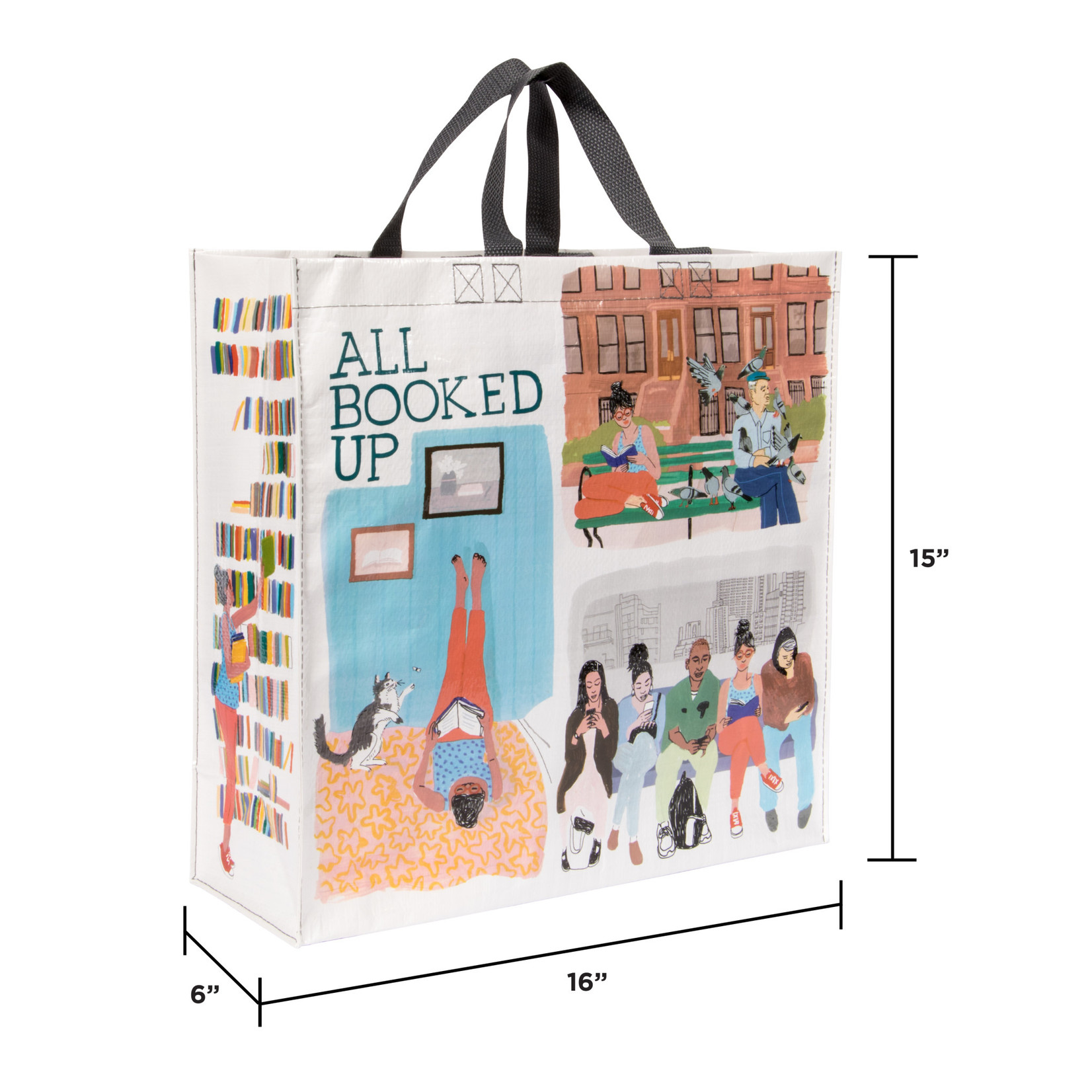 Blue Q Shopper - All Booked Up