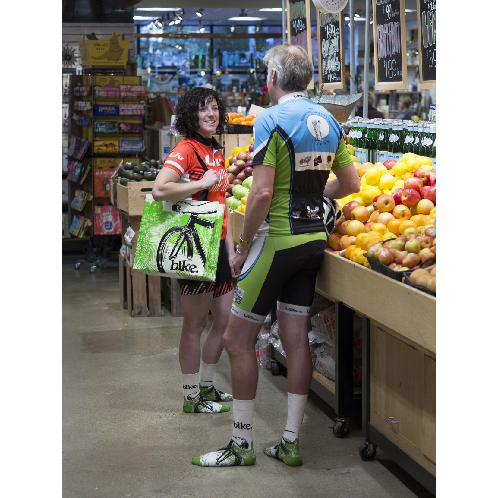 Blue Q Shopper - Bike Path