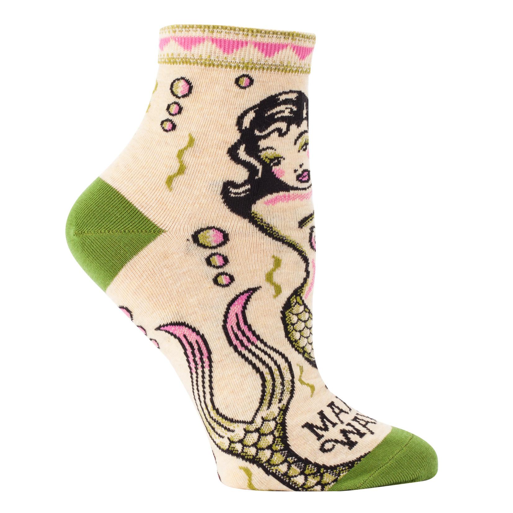 Blue Q Womens Ankle Socks - Makin Waves