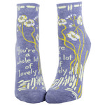 Blue Q Womens Ankle Socks - Whole Lotta Lovely