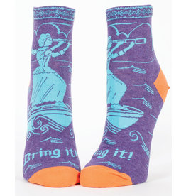 Blue Q Womens Ankle Socks - Bring It