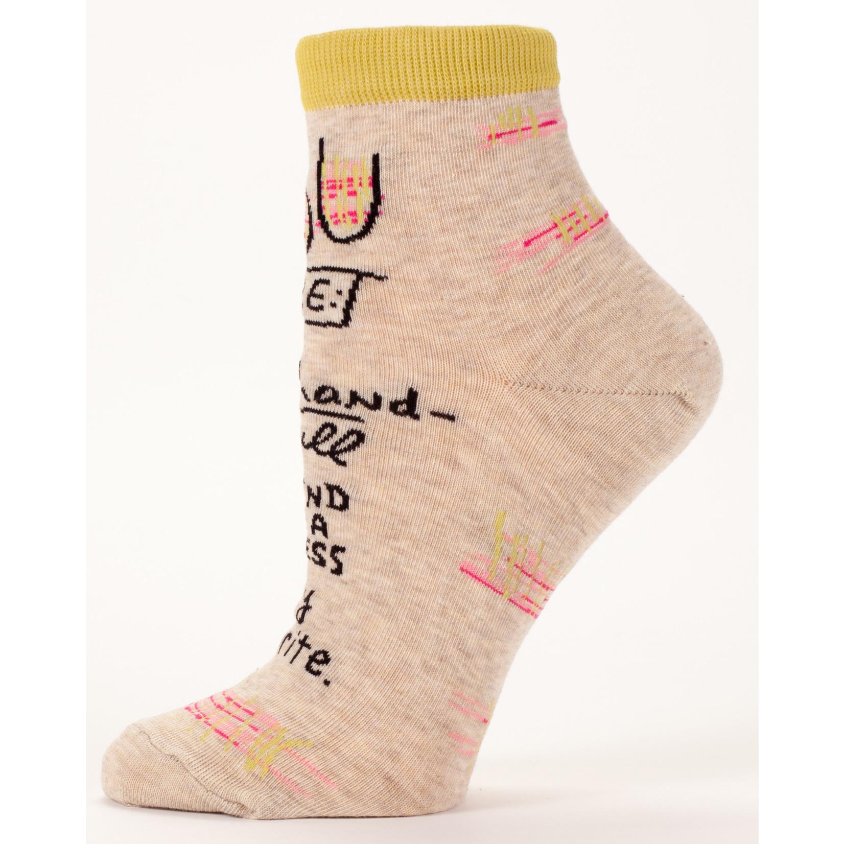 Blue Q Womens Ankle Socks - My Favorite