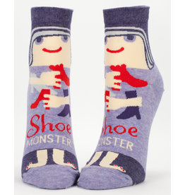 Blue Q Womens Ankle Socks - Shoe Monster