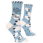 Blue Q Womens Crew Socks - Loving Memory of Sleep