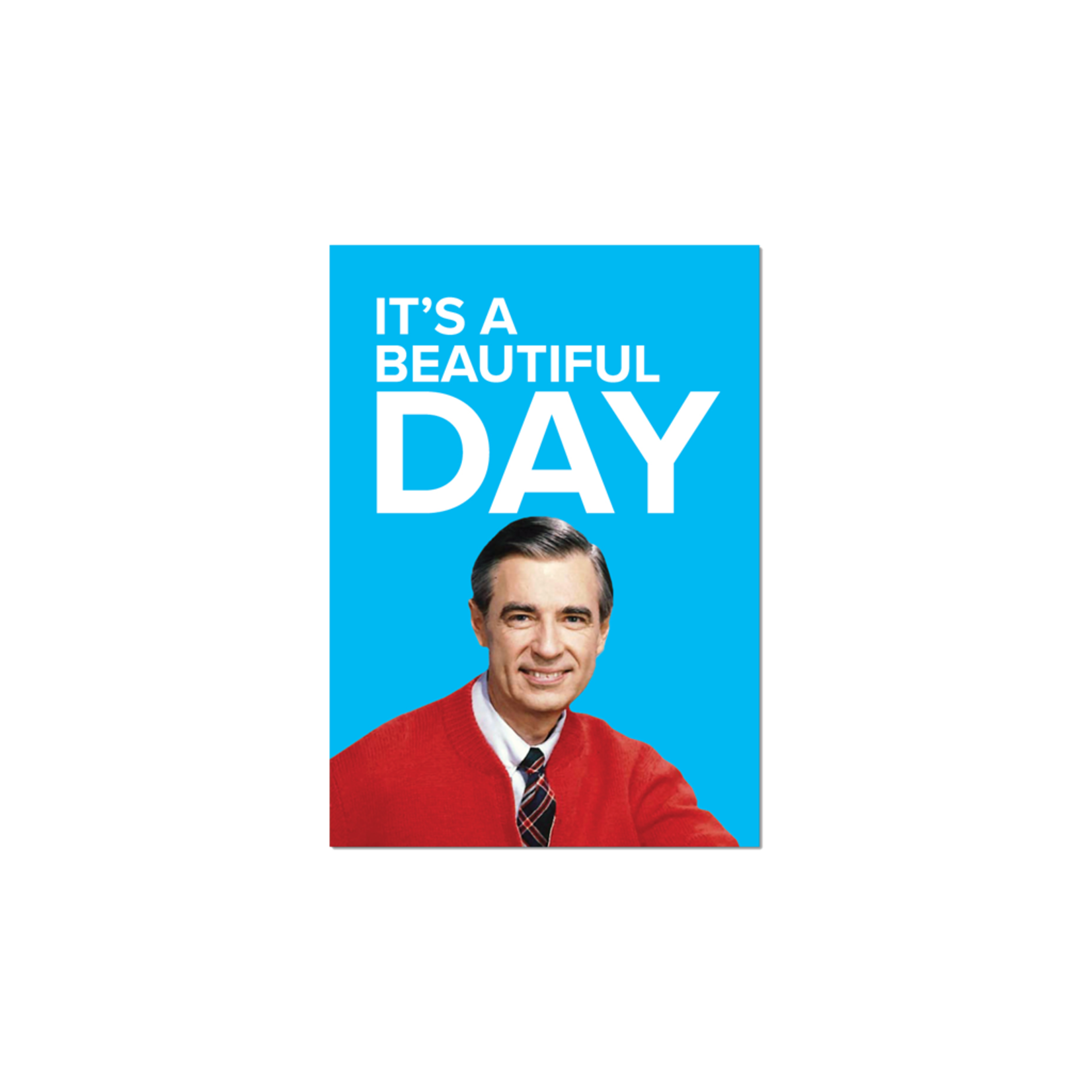 papersalt Magnet:  Mister Rogers It's A Beautiful Day