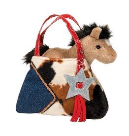 Douglas Western Sak with Buckskin Horse