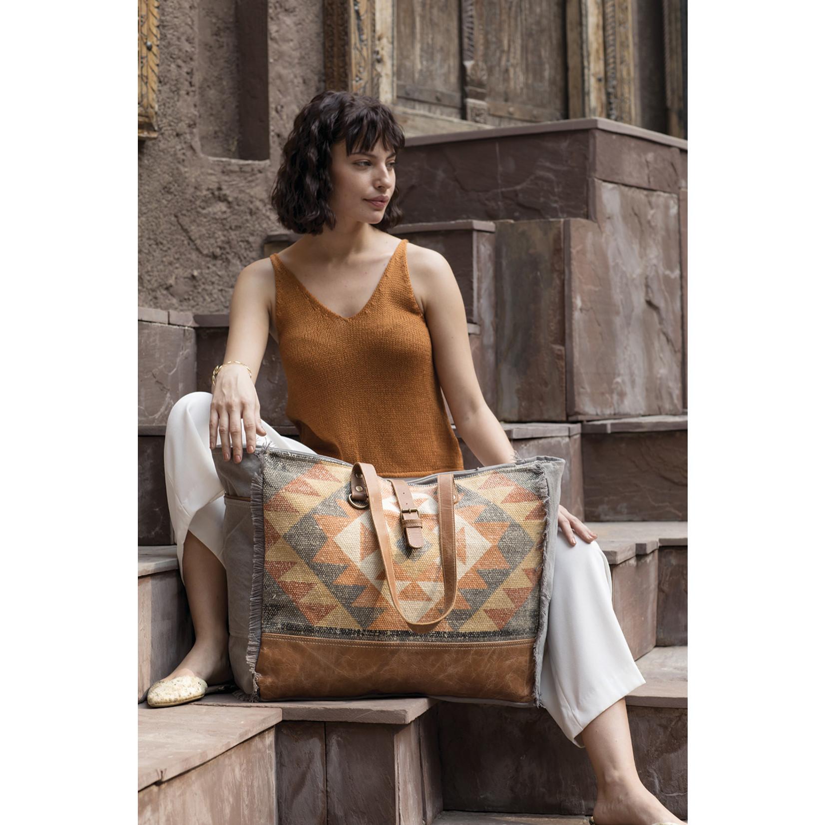 Myra Bags S-2009 Cosmopolitan Weekender Bag