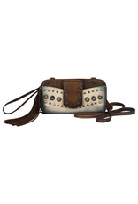 Catchfly 2002615W Catchfly Allie Wallet/Crossbody - Dark Tan