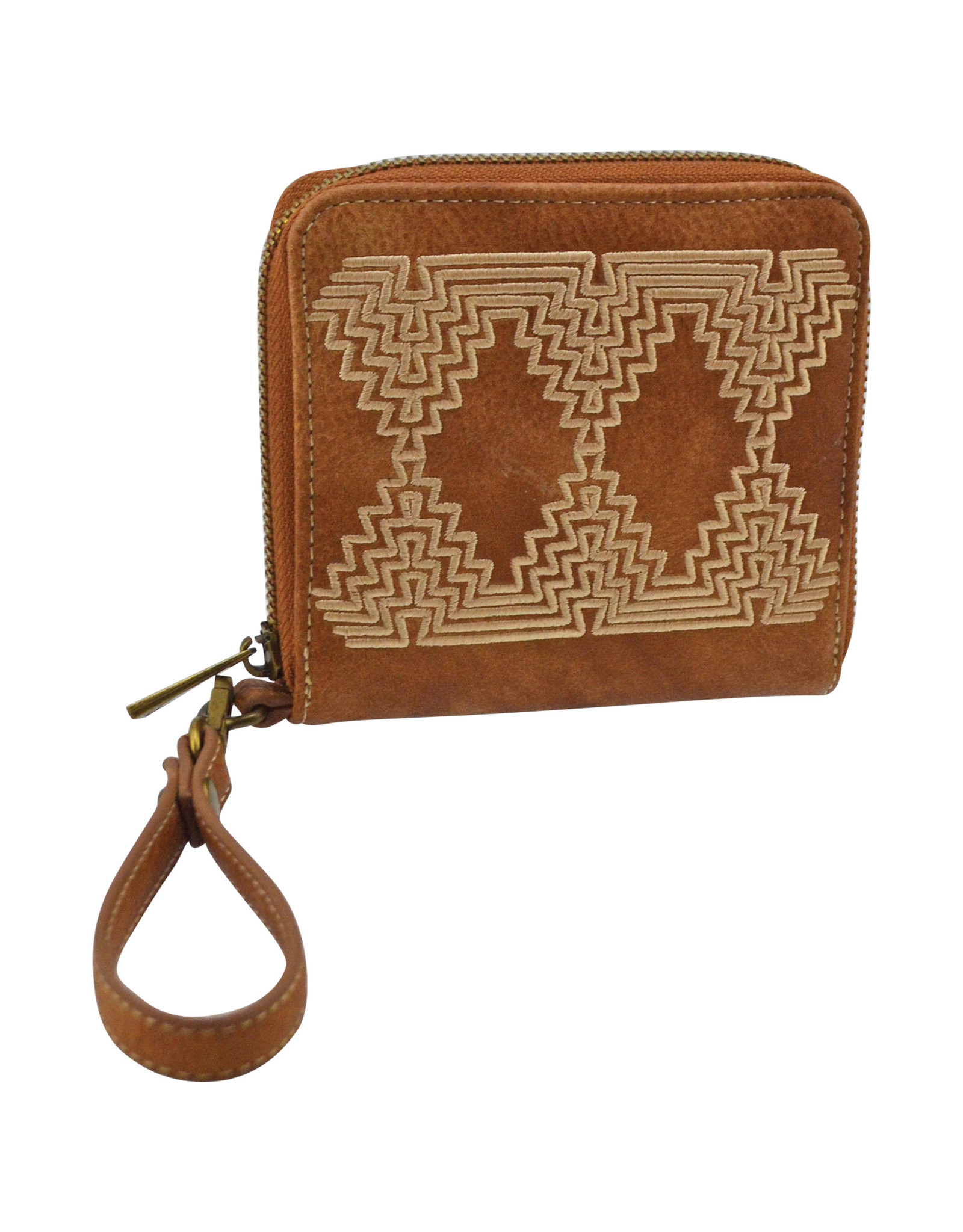 Catchfly 2004559W Catchfly Courtney Wallet - Aged Saddle