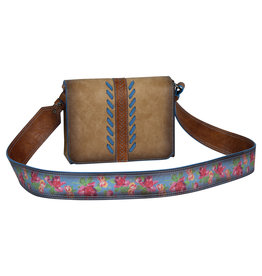 Catchfly 2008620 Catchfly Julia Crossbody - Flap Flower