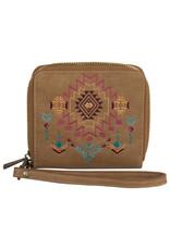 Catchfly 2012559W Catchfly Kristan Wallet - Aztec Embroidery