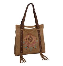 Catchfly 2012628 Catchfly Kristan Tote - Aztec Embroidery