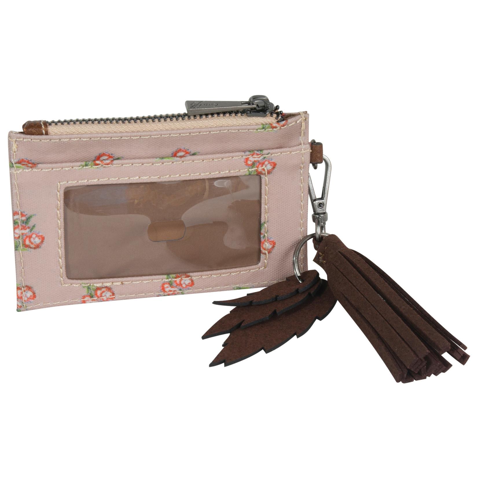 Catchfly 2025630W Catchfly Emily ID Wallet - Flower