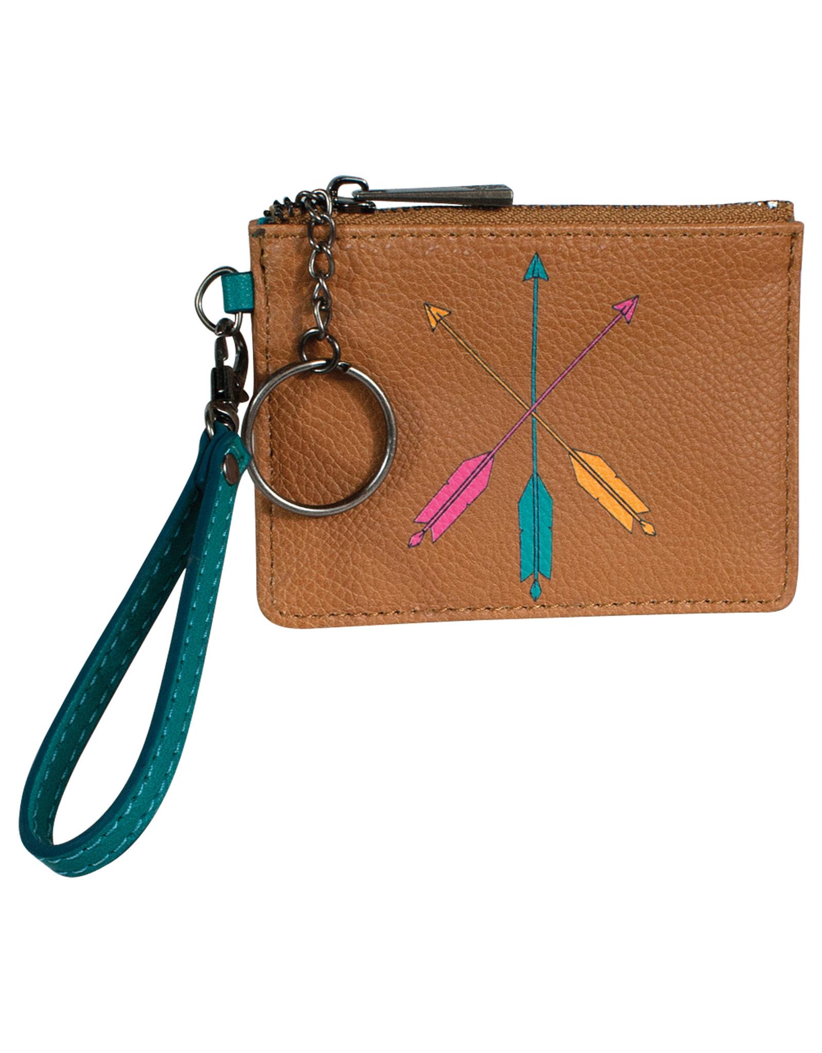 Catchfly 2029625W Catchfly Mini Wallet - Key Arrows
