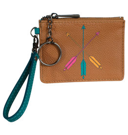 Catchfly 2029625W Catchfly Mini Wallet - Key Arrows