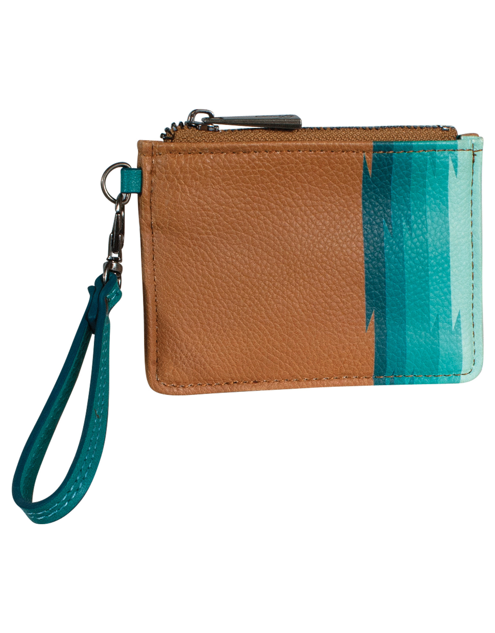 Catchfly 2031625W Catchfly Mini Wallet - Key Turquoise