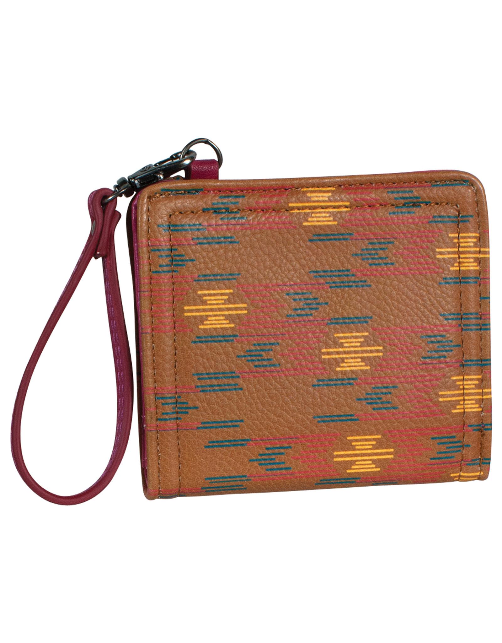 Catchfly 2033627W Catchfly Mini Bi-Fold Wallet - Aztec