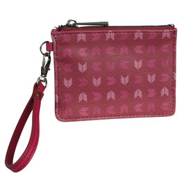 Catchfly 2035625W Catchfly Mini Wallet - Key Chevron