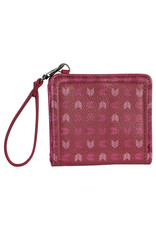 Catchfly 2035627W Catchfly Mini Bi-Fold Wallet - Chevron