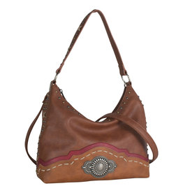 Justin 1861545 Justin Slouch Purse - Sienna