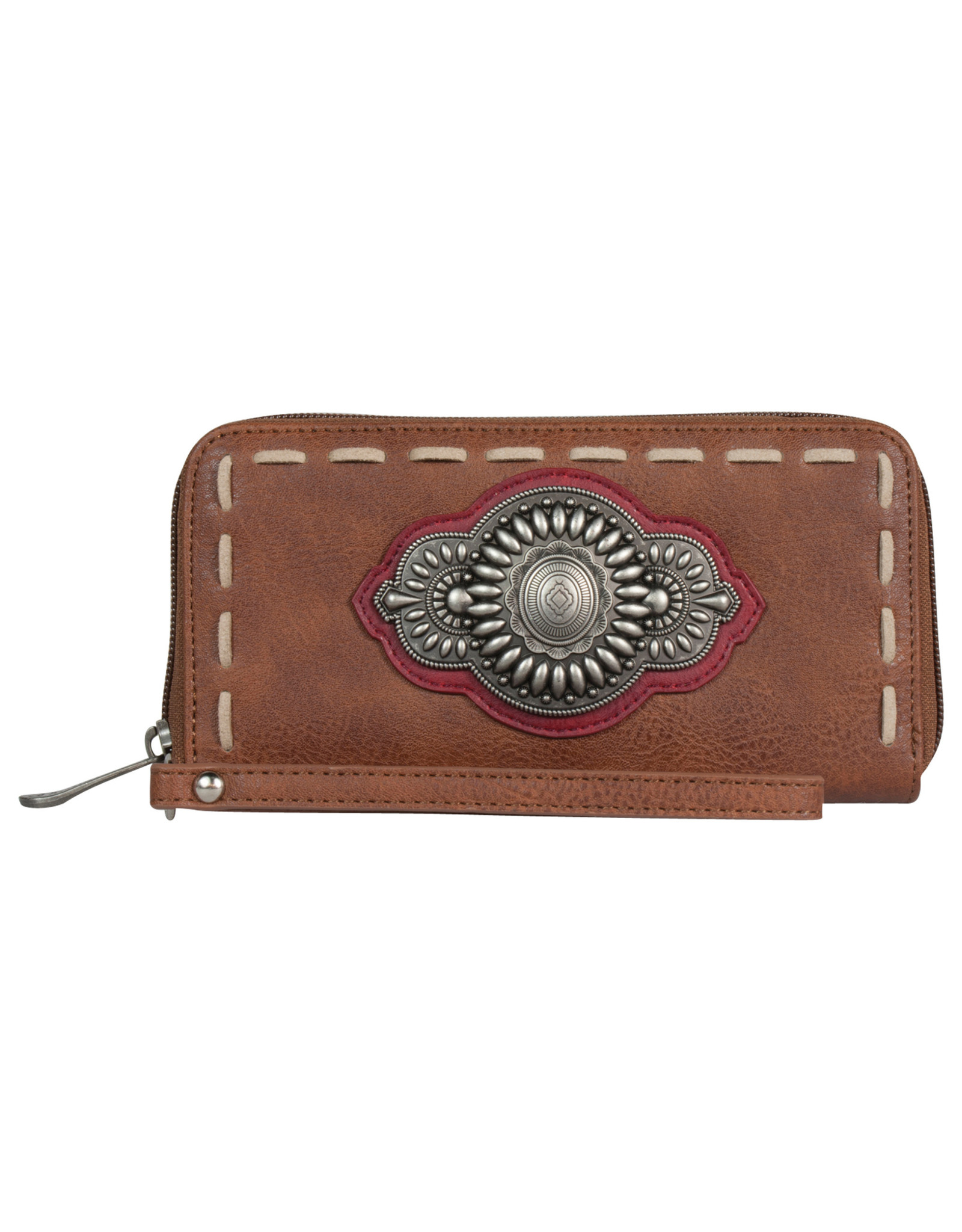 Justin 1861553W Justin Wallet - Sienna with Concho