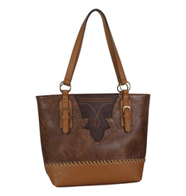 Justin 1960309 Justin Tote - Saddle/Brown Tones