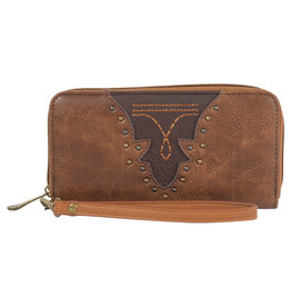 Justin 1960215W Justin Wallet - Saddle/Brown