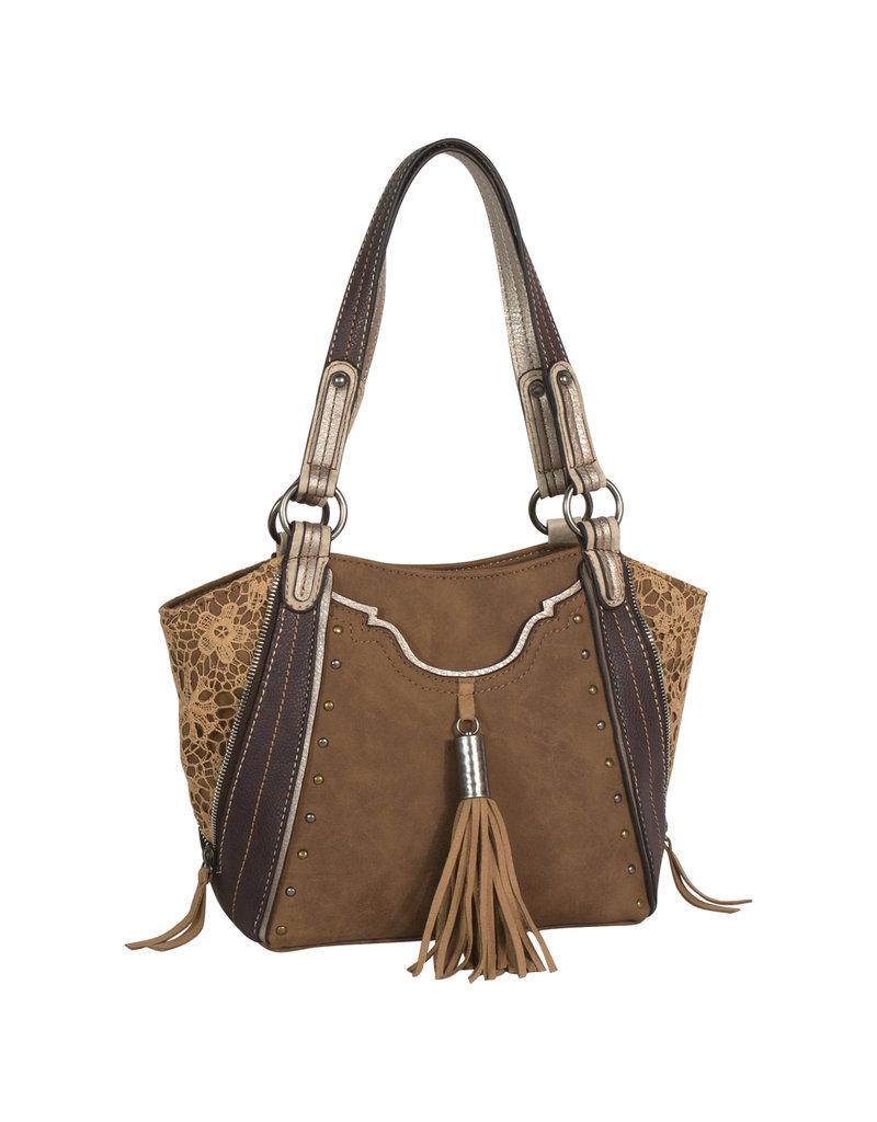 Justin 2047511 Justin Shoulder Bag - Saddle Lace
