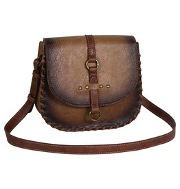 Justin 2049531 Justin Saddle Bag - Burnished Amber