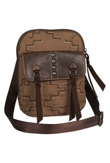 Justin 2061660TR Justin Crossbody - Trail Brown Parachute Bag