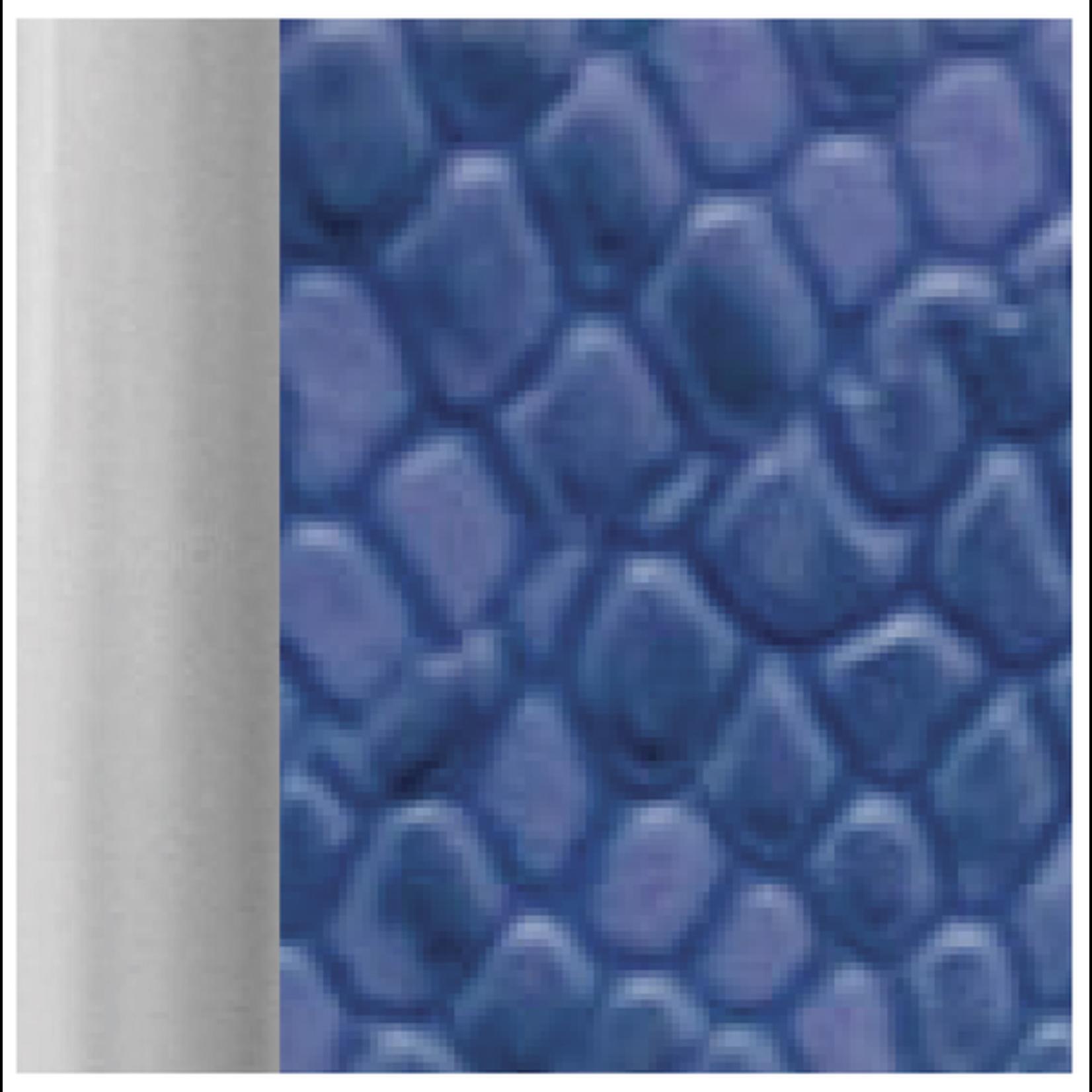 HBN5024 Snakeskin Crossbody Wallet - Cobalt