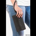 HBN5166 Bandana Rivet Wristlet Wallet - Punch