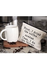 Ellembee Gift Zipper Pouch - Drink The Coffee