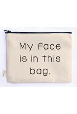 Ellembee Gift Zipper Pouch - My Face