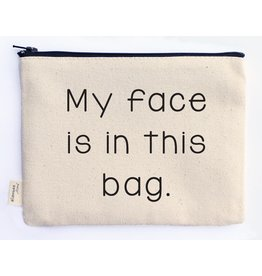 Ellembee Gift Zipper Pouch - My Face